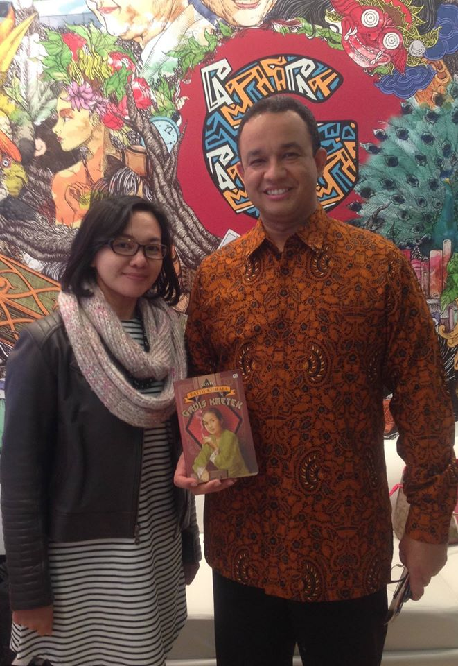 The Minister of Education and Culture of Republic of Indonesia, Mr. Anies Baswedan.