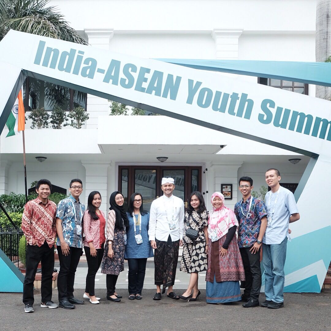 Delegasi Indonesia, India-ASEAN Youth Summit 2017