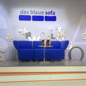 The famous The Blue Sofa