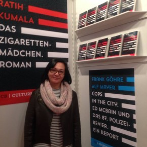 Culturebooks's booth. (Photo by Dorte)