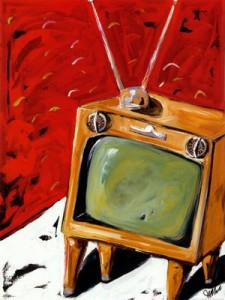 television-painting