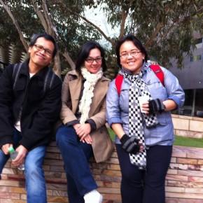 Eka, Ratih, Maggie (picture by Kinan)